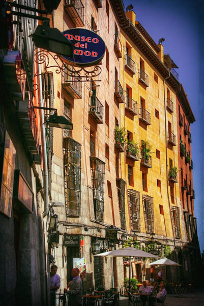 Wall Art - Photograph - Streets Of Madrid Spain by Carol Japp