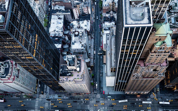 Photograph - New York Streets by M G Whittingham