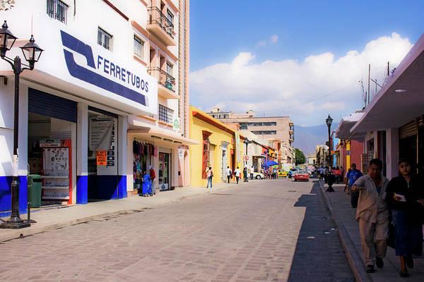 Photograph - Streets Of Oaxaca Mexico 2 by Lee Santa