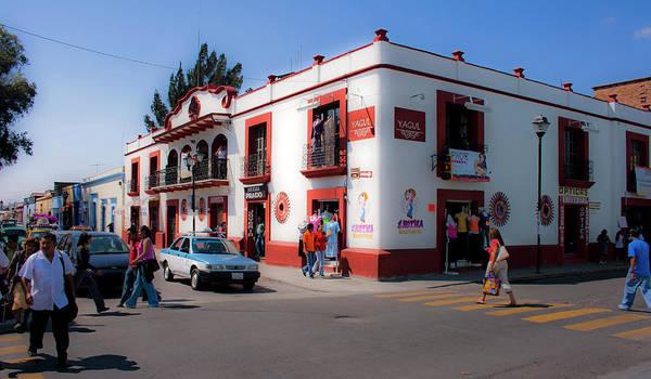 Photograph - Streets Of Oaxaca Mexico 3 by Lee Santa