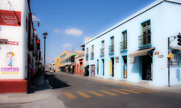 Photograph - Streets Of Oaxaca Mexico 4 by Lee Santa