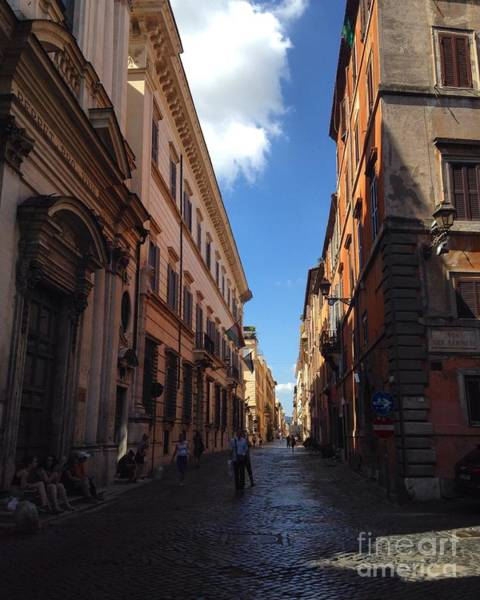 Photograph - Streets Of Roma by Angela Rath