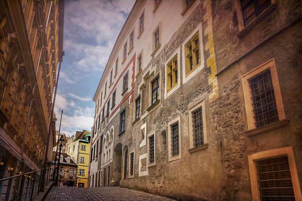 Streets Of Vienna Austria  Art Print