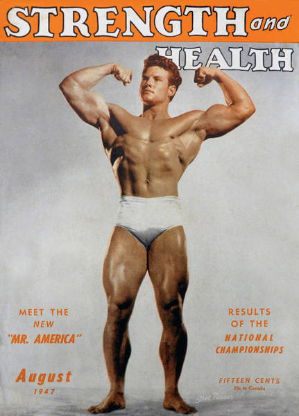 Wall Art - Photograph - Strength And Health August 1947 by David Lee Thompson