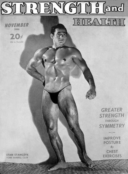 Wall Art - Photograph - Strength And Health Mag Nov 1948 by David Lee Thompson