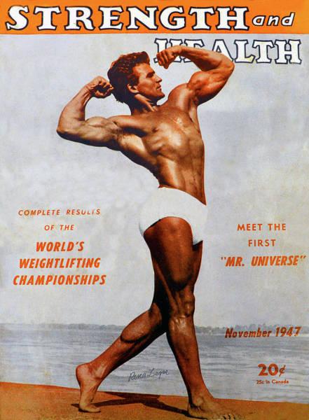 Wall Art - Photograph - Strength And Health Mag November 1947 by David Lee Thompson