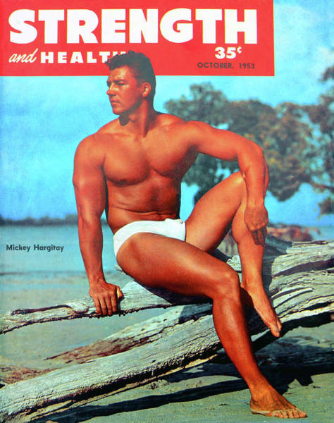 Wall Art - Photograph - Strength And Health Mag Oct 1953 by David Lee Thompson