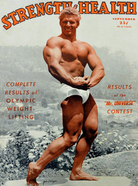 Wall Art - Photograph - Strength And Health Mag Sept 1948 by David Lee Thompson