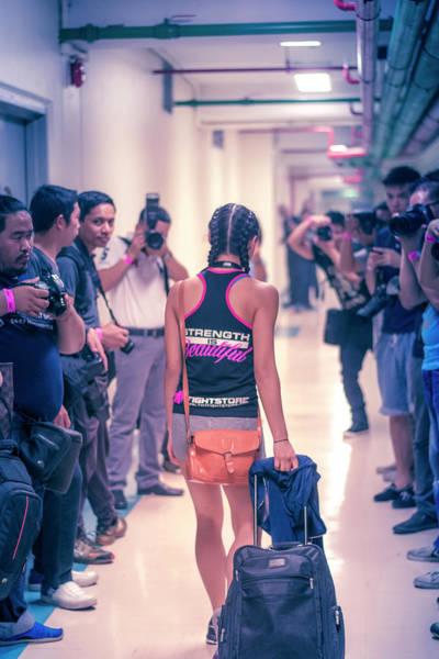 Kickboxing Photograph - Strength Is Beautiful by Jijo George