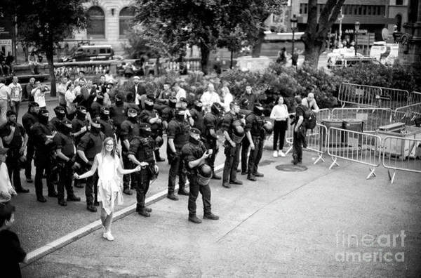 Photograph - Strength In Barcelona by John Rizzuto