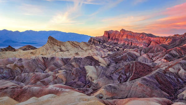 Photograph - Striated Erosion by Rick Wicker
