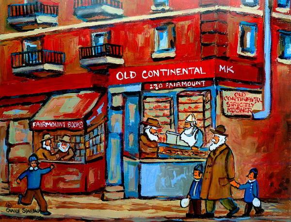 Lchaim Painting - Strictly Kosher by Carole Spandau