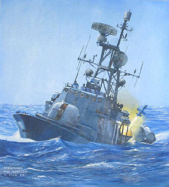 Painting - Strike Craft by Tim Johnson