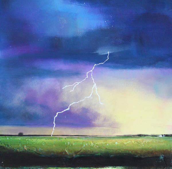 Lightning Painting - Strike From The Heavens by Toni Grote
