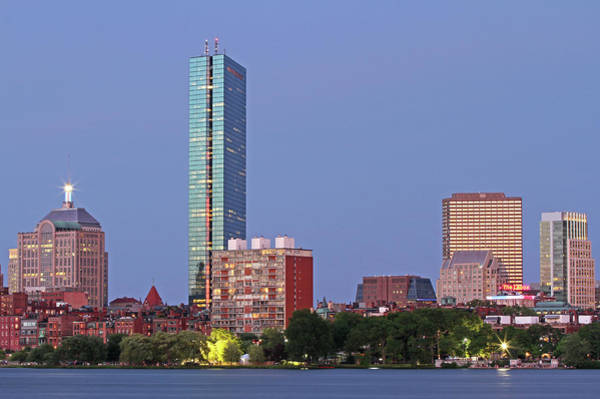 Photograph - Striking Architecture Of The Boston Back Bay by Juergen Roth