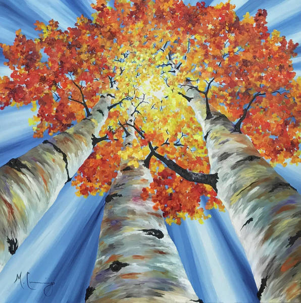 Painting - Striking Fall by Melinda Cummings