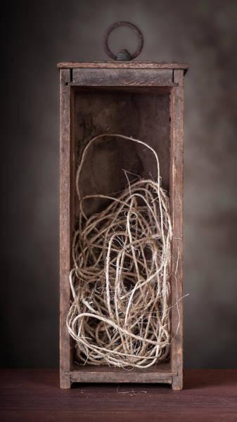 Framing Photograph - String Box Still Life by Tom Mc Nemar