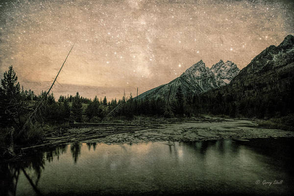 Photograph - String Lake Trail With Filter by Gerry Sibell