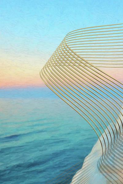 Digital Art - String Theory - Quantum Gravity by Serge Averbukh