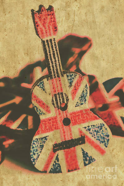 Grunge Music Wall Art - Photograph - Stringed In Great Britain by Jorgo Photography - Wall Art Gallery