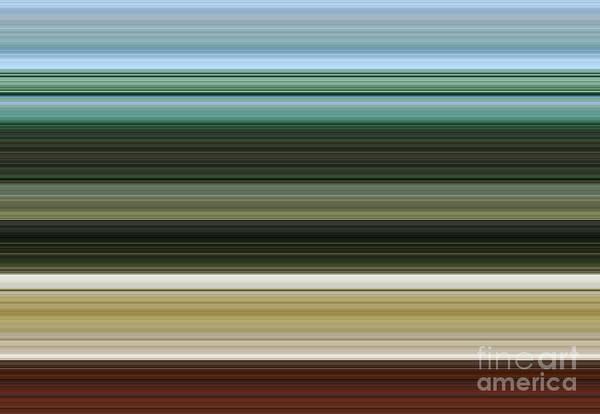Contrast Digital Art - Strings And Frets by Alex Caminker