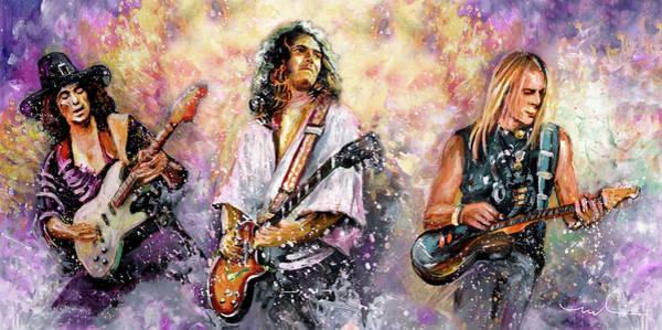 Painting - Strings Of Deep Purple by Miki De Goodaboom