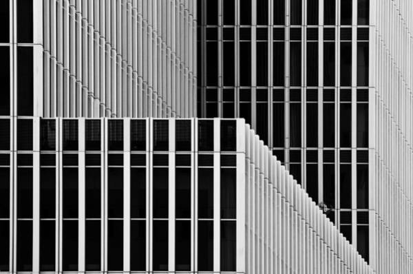 Modern Architecture Photograph - Stripes And Windows by Greetje Van Son