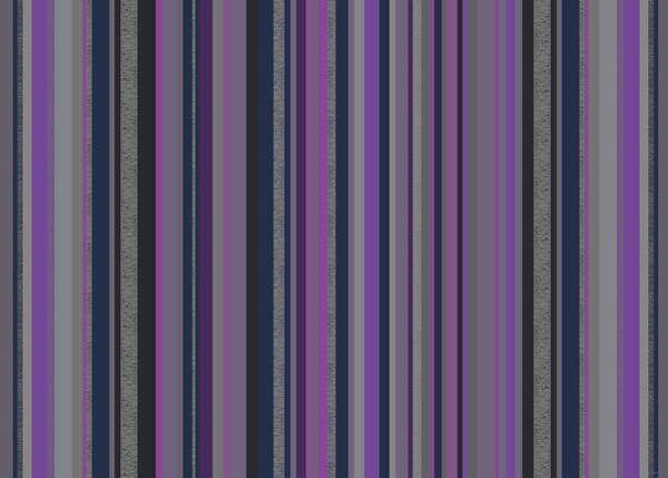 Digital Art - Stripes In Grayed Lavender by Val Arie