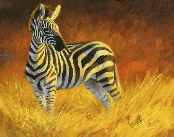 Painting - Stripes by Lucie Bilodeau