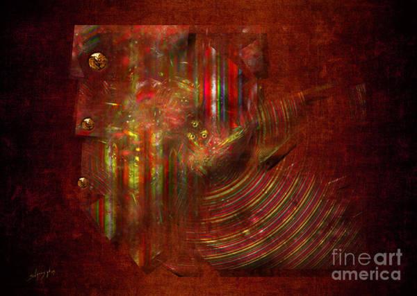 Digital Art - Strips by Alexa Szlavics