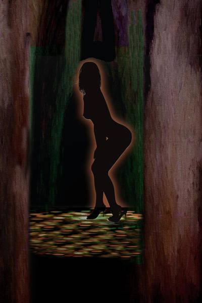 Digital Art - Striptease by Ericamaxine Price
