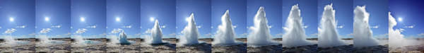 Photograph - Strokkur Geyser Erupting by Matt Swinden