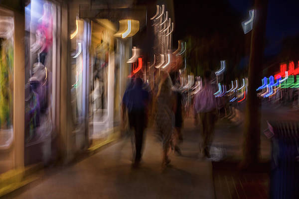 Photograph - Strolling Duval by Louise Lindsay