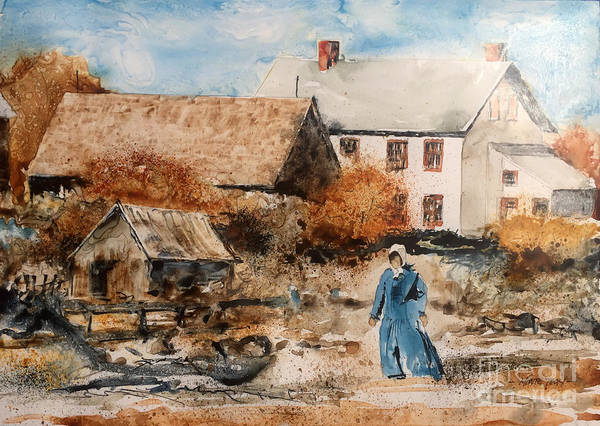 Painting - Strolling by Monte Toon