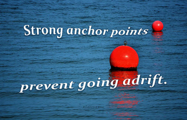 Photograph - Strong Anchor Points by Erich Grant