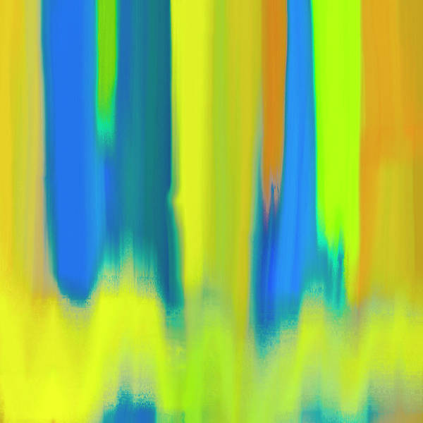 Wall Art - Painting - Strong Colors Rising by Frank Tschakert