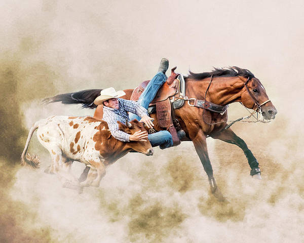 Wall Art - Photograph - Strong Hearts And Fast Horses by Ron McGinnis