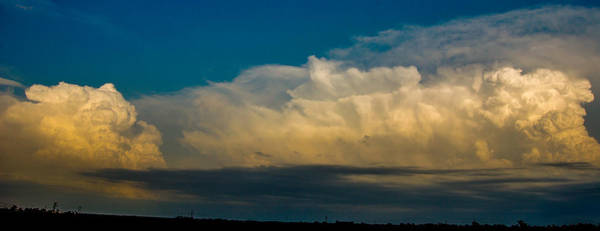 Photograph - Strong Nebraska Thunderstorm Cells 009 by NebraskaSC