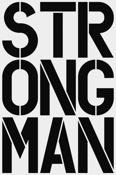 Wall Art - Painting - Strongman by Three Dots