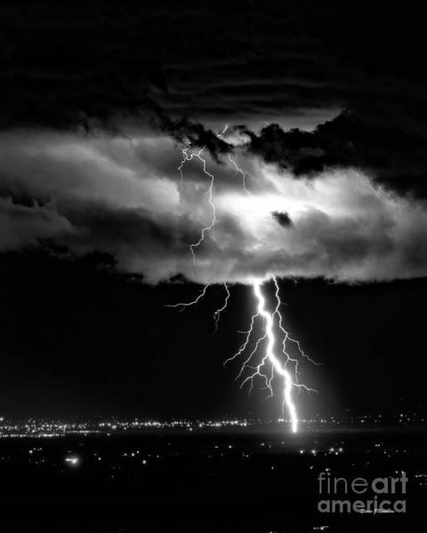 Photograph - Struck By Lightening by Steven Natanson