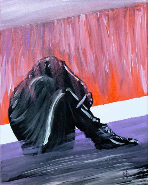 Painting - Struggle by Franklin Kielar
