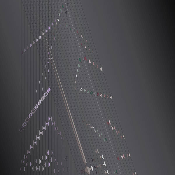 Digital Art - Strung Art by Kevin McLaughlin