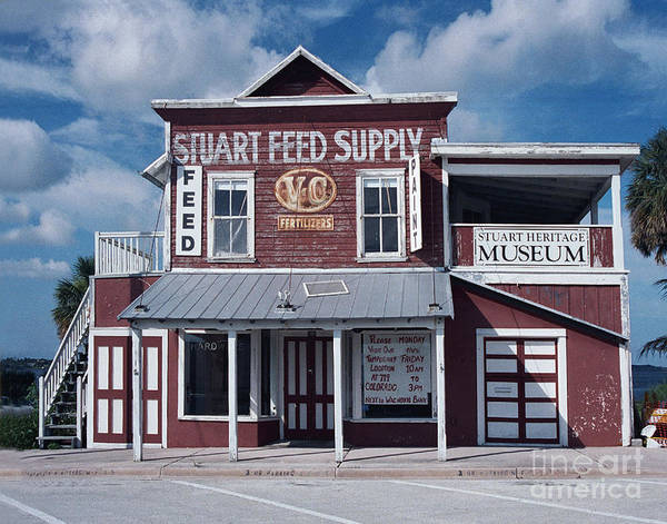 Photograph - Stuart Feed Store by Richard Nickson