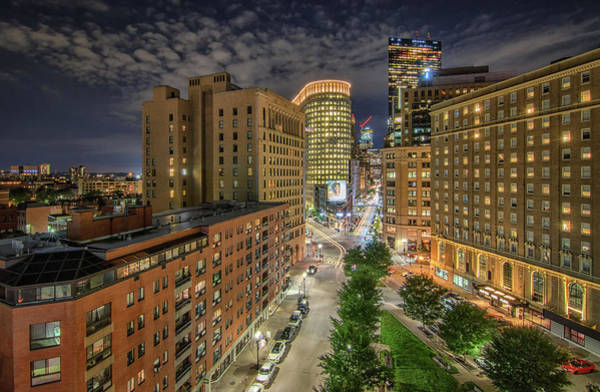 Photograph - Stuart Street Looking Towards Boston's Back Bay by Kristen Wilkinson