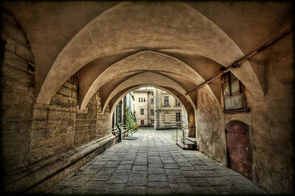 Passage Wall Art - Photograph - Stuck In The Middle by Evelina Kremsdorf