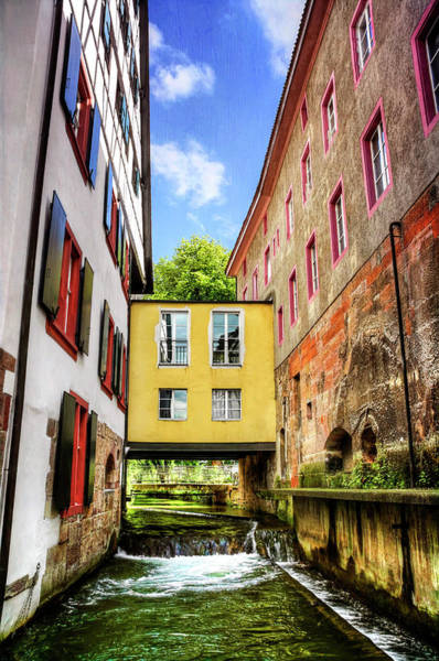 Wall Art - Photograph - Stuck In The Middle In Basel Switzerland  by Carol Japp