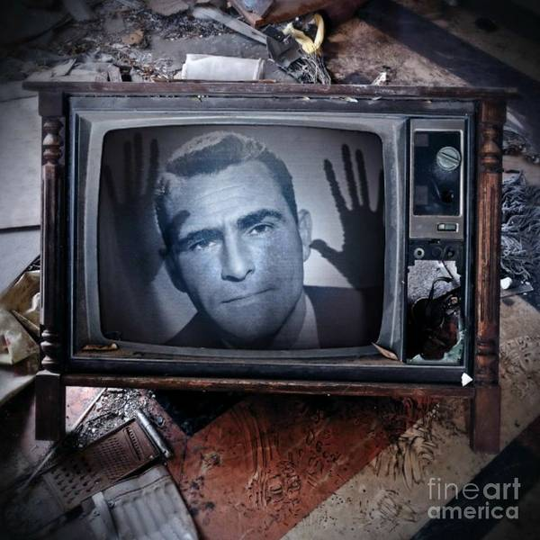 Wall Art - Photograph - Stuck In The Twilight Zone by John Malone