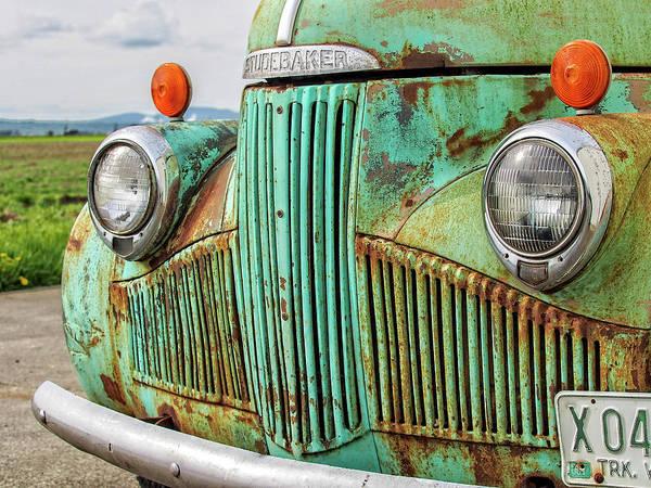 Photograph - Studebaker 47 by Gary Karlsen