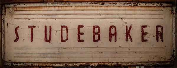 Photograph - Studebaker by Teresa Wilson
