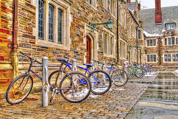 Wall Art - Photograph - Student Buildings At Princeton University by Geraldine Scull